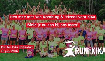 Ren mee met Van Domburg & Friends voor KiKa