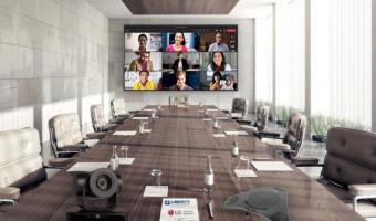 Videoconferencing set