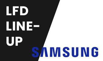 The Samsung LFD lineup in one overview!