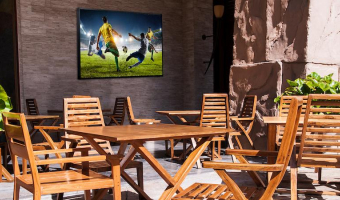 Head out to the terrace with Samsung's new outdoor display
