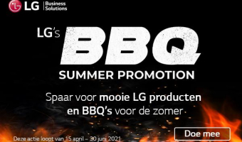 Great prizes with the LG BBQ Summer Promotion!